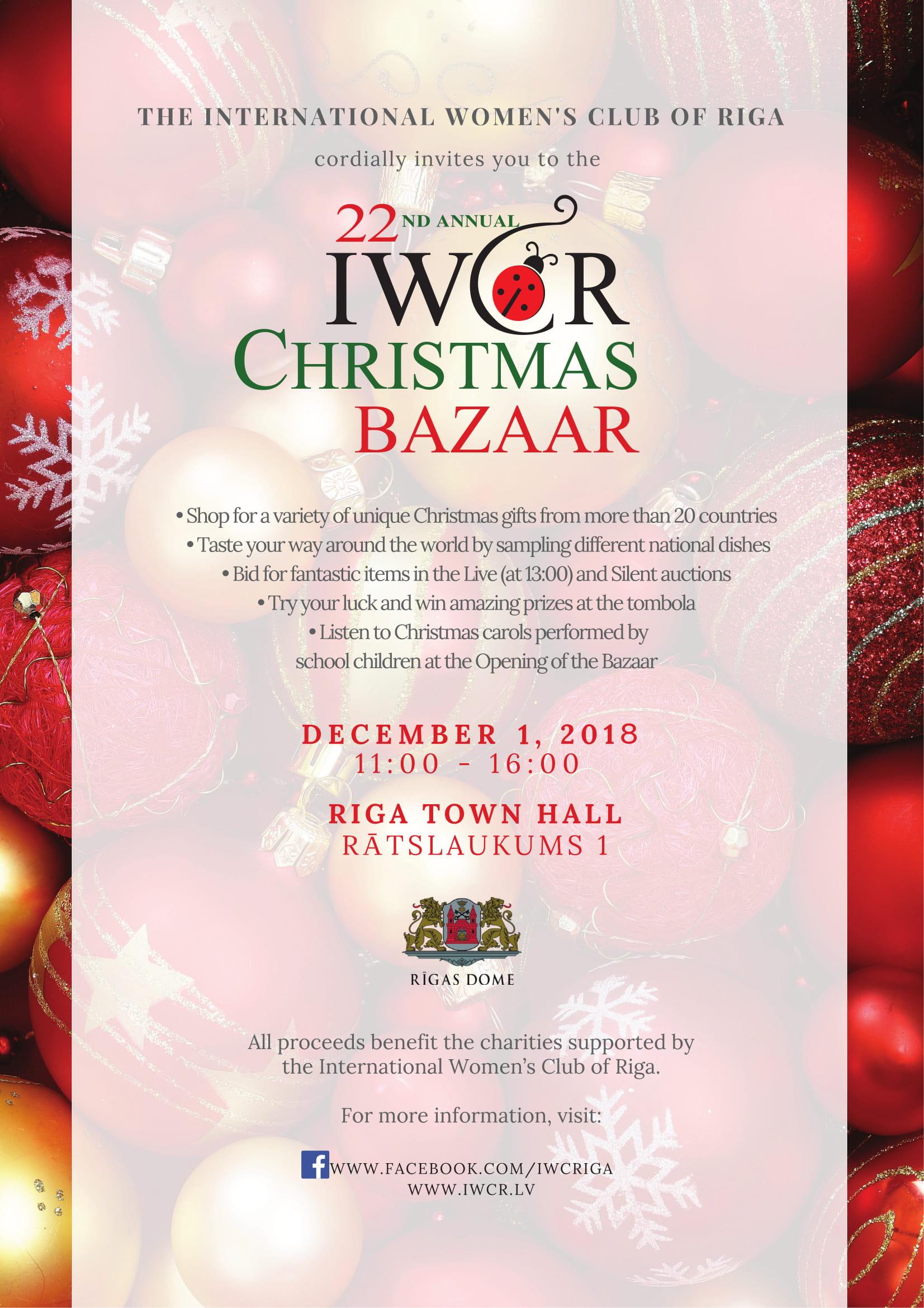 Christmas Bazaar - International Women\'s Club of Riga ...