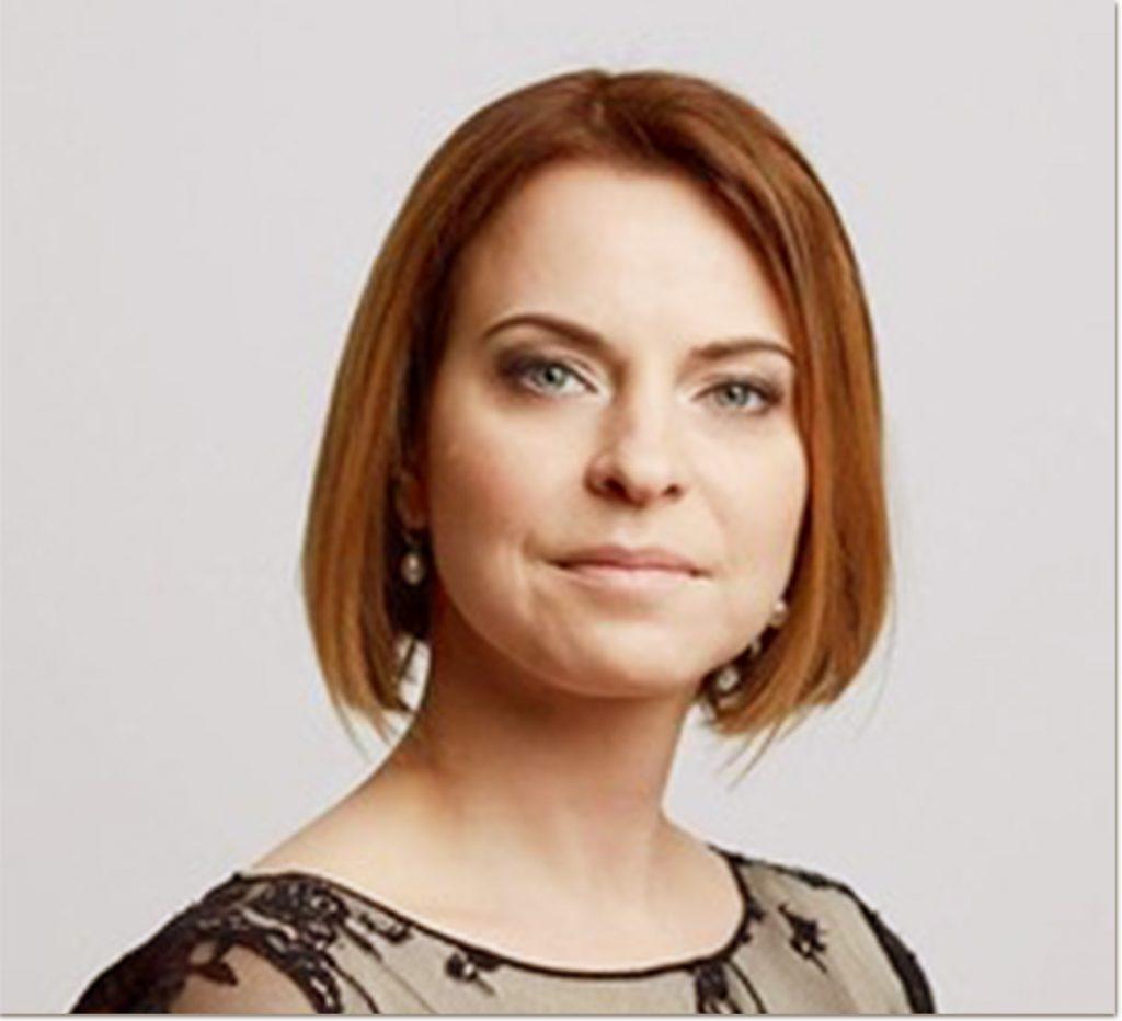 Board International Womans Club Riga, Vice President Elena Tehze