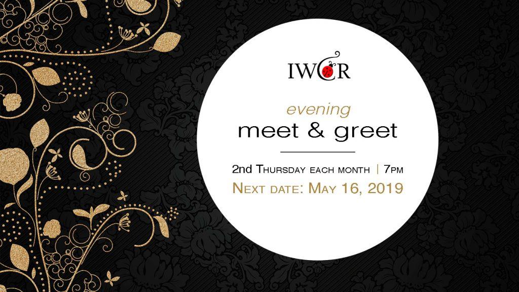 IWCR Evening Meet & Greet May 16