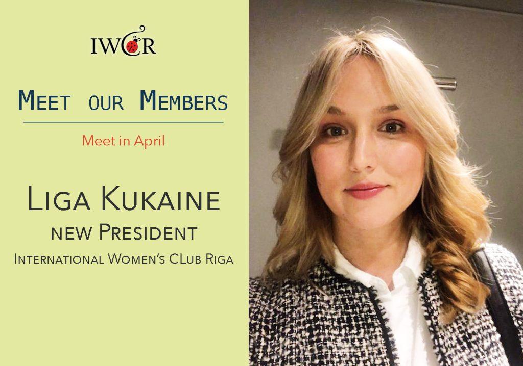 International Womens Club Riga Meet our members, Liga Kukaine